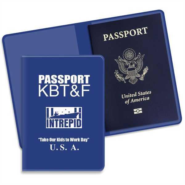 Dual pocket passport holder