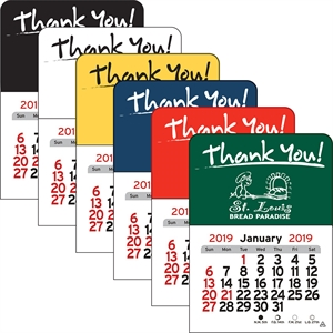 Small vinyl 'Thank You'