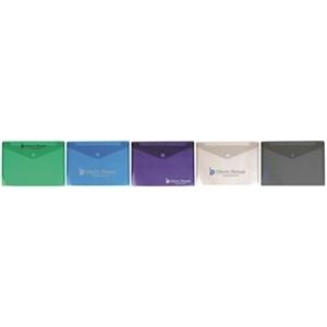 Translucent, side-open legal envelope