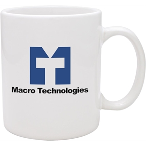 Promotional Ceramic Mugs-77000-White