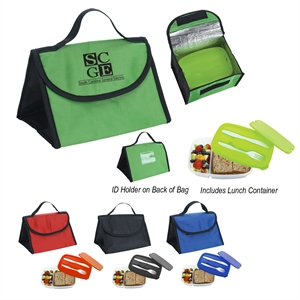 Container and Lunch Bag