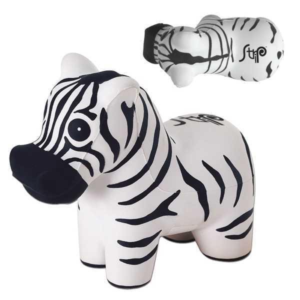 Zebra shaped stress reliever