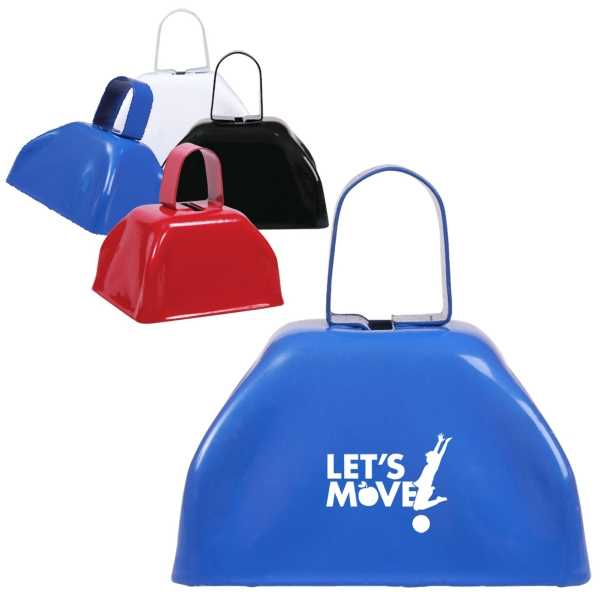 Small promotional cow bell