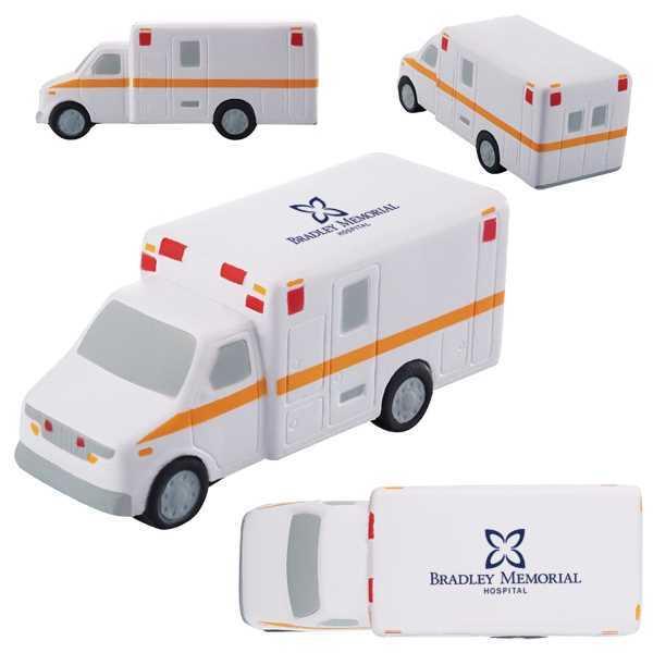 Ambulance shaped stress reliever