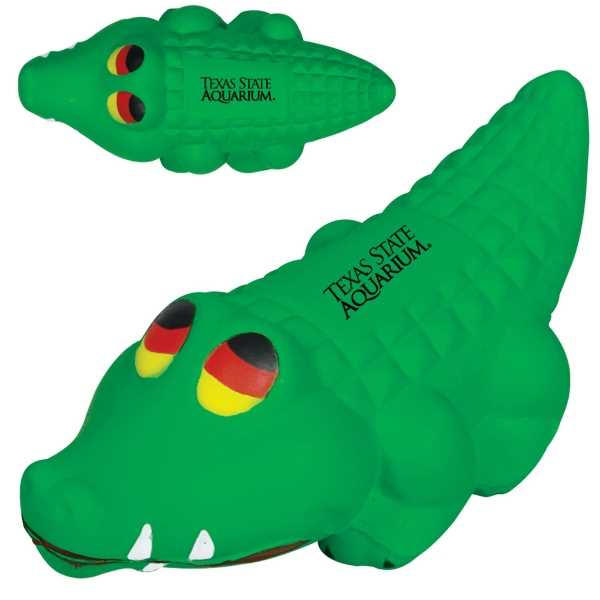 Alligator shaped stress reliever