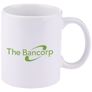 Promotional Ceramic Mugs-CM100-W