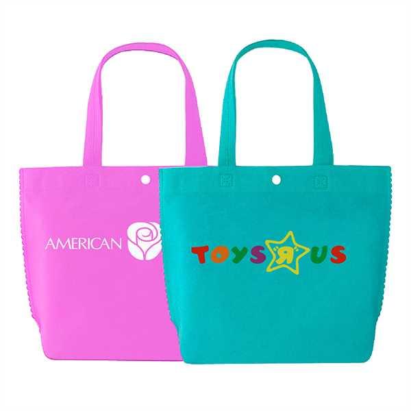 Tote bag made of
