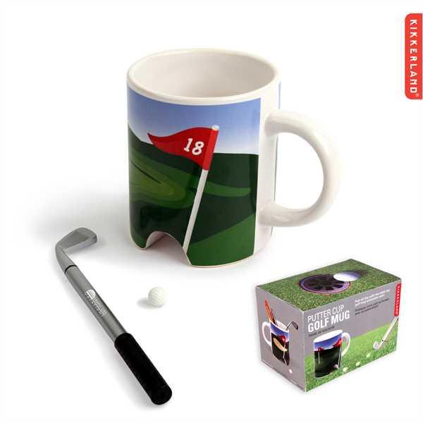 Ceramic golf mug.