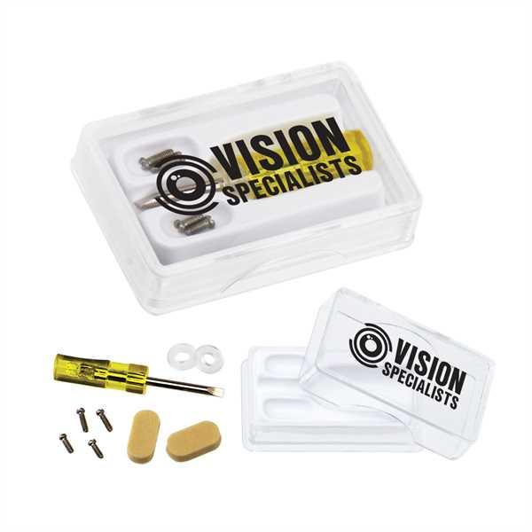 Eyeglass repair kit with