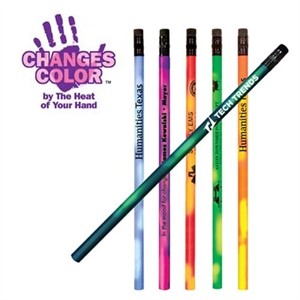 Pencil that changes color