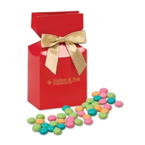 red gift box with