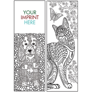 Animals Coloring Bookmark