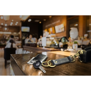 Promotional Leather Key Tags-C342