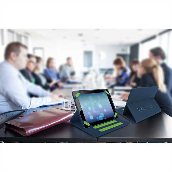 Tablet easel with soft