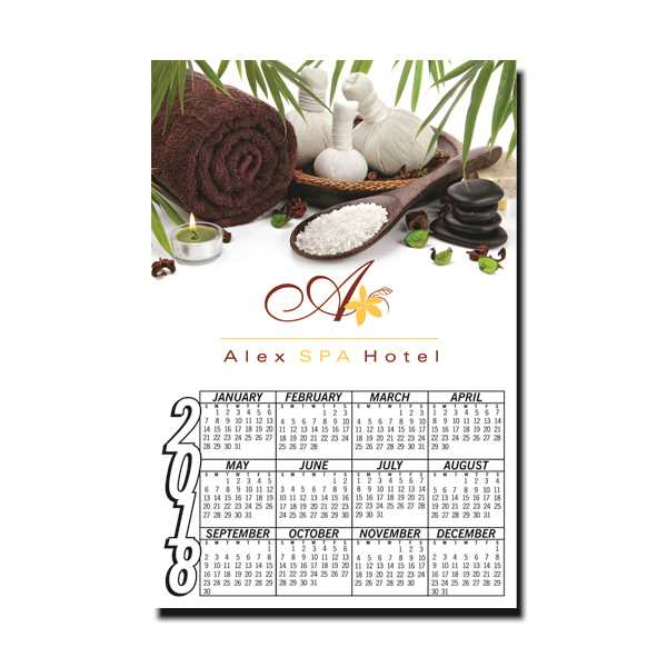 Full Color Digital Calendar
