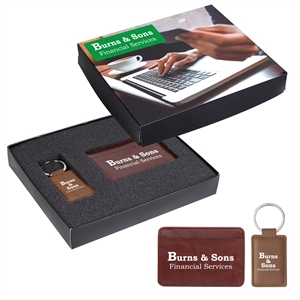 Promotional Leather Key Tags-HG1K