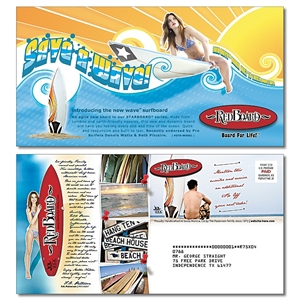 Large Laminated Postcard -