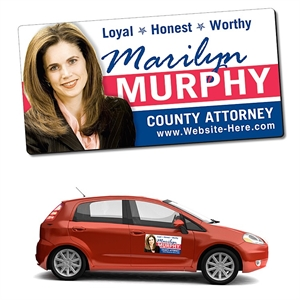 Political Magnetic Car/Truck/Auto/Vehicle Signs