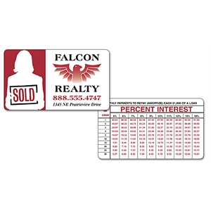 Promotional Business Card Magnets-2113U