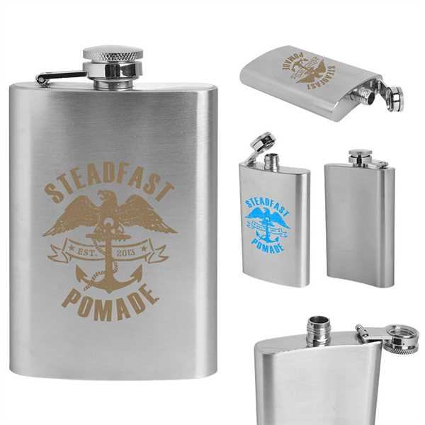 Hip flask made of