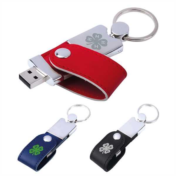 Leatherette USB Drive