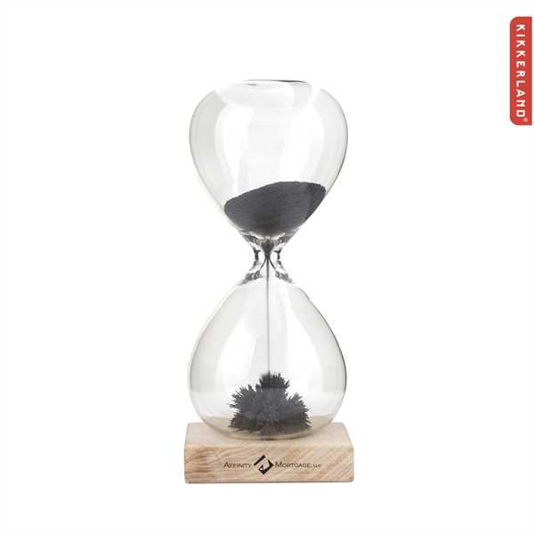 Strikingly clear hourglass is