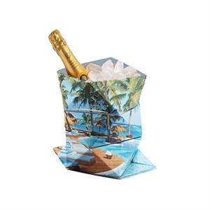 Origami Paper Ice Bucket.