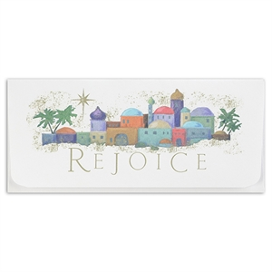 Currency envelopes - Rejoice.