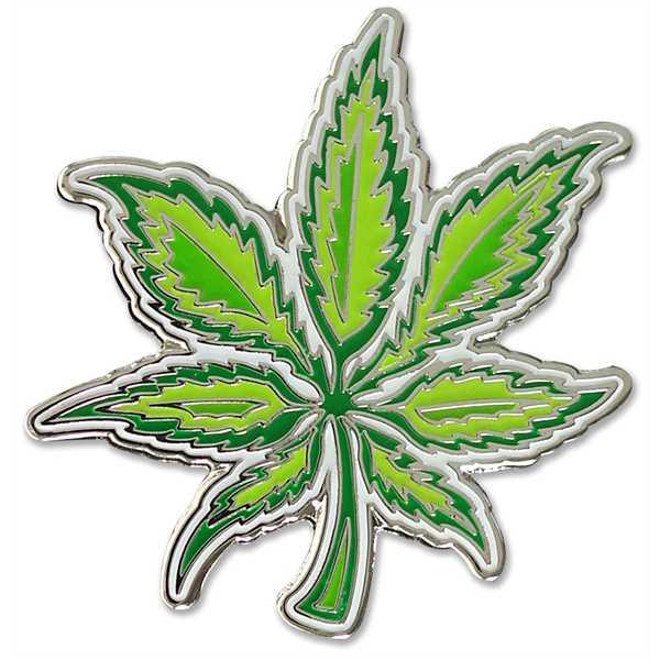 Weed Enamel Pin. Made