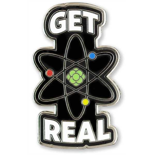 Science Hard Enamel Pin.