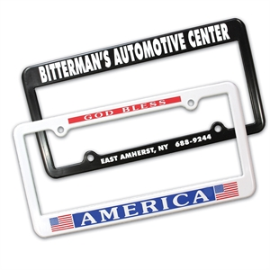 Promotional License Frames-40001
