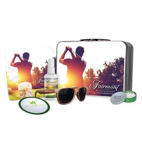 Golf themed lunchbox kit