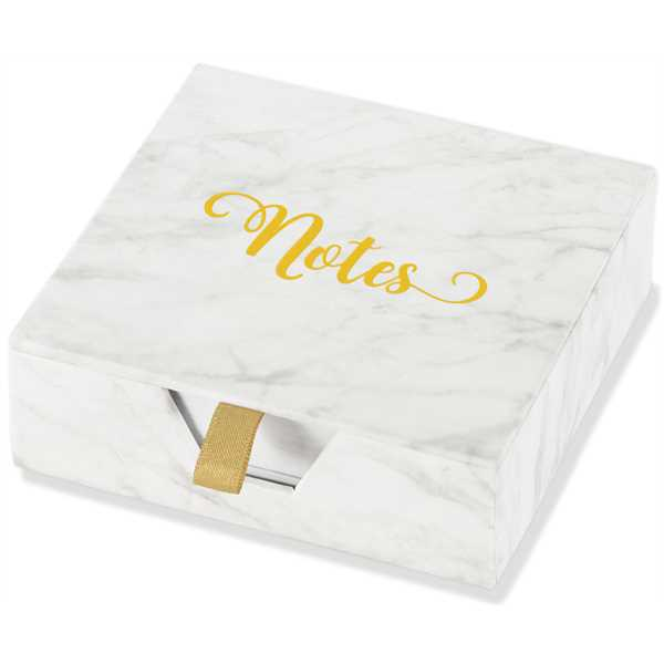 Marble Boxed Desk Notes