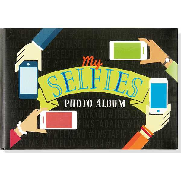 Hardcover portable My Selfies