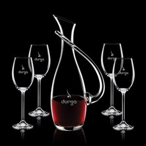 4 Wine Glasses -