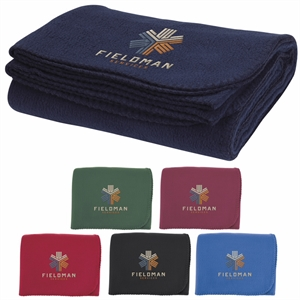Thick fleece blanket with