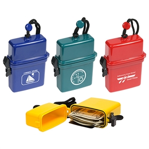 Waterproof storage case with
