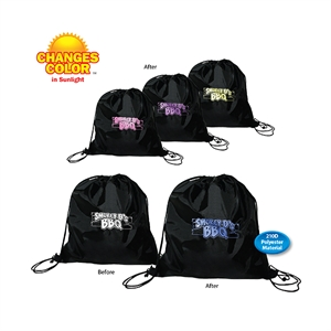 Sun fun drawstring backpack.
