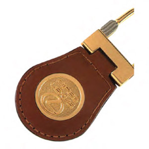 Promotional Leather Key Tags-