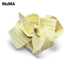 Rigid vinyl paperweight.