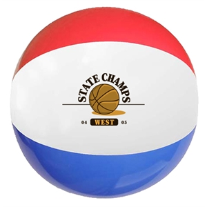 Promotional Beach Balls-MB12RWB