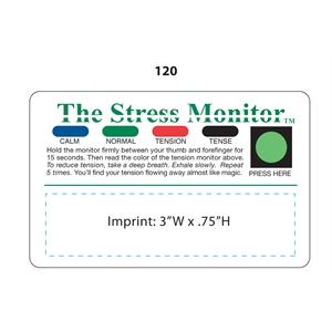 Promotional Stress Cards-120