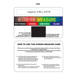 Promotional Stress Cards-124