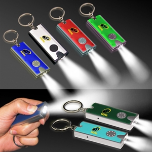 Promotional Keytags with Light-