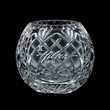 Beautifully cut crystal vase