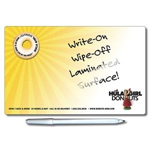 Promotional Wipe Off Memo Boards-3000LCUST