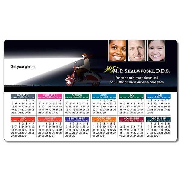 Health Calendar Magnet -