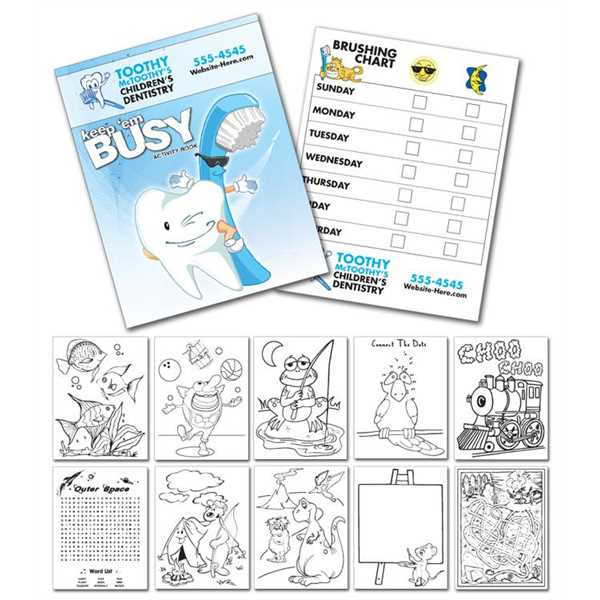 Activity Coloring Book -