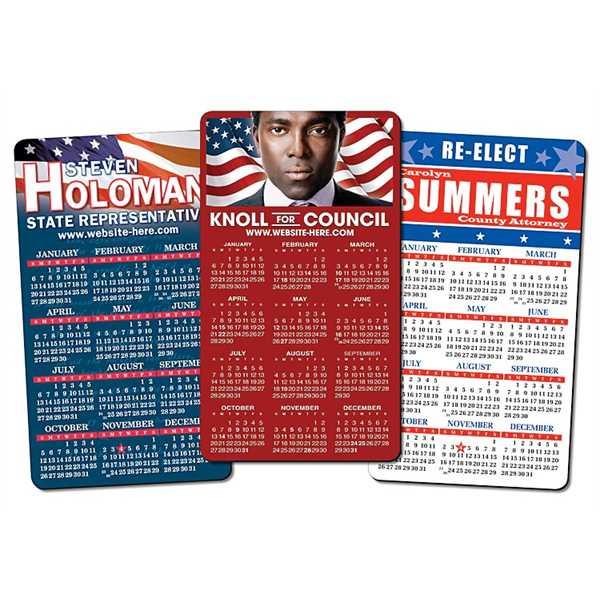 Political Calendar Magnet -