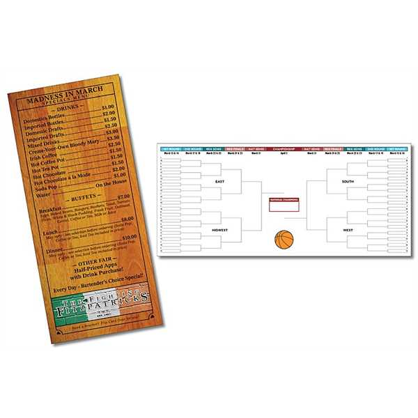 Rack Card / Menu